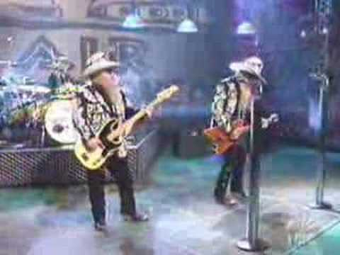 zz top live on a show