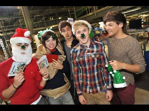 One Direction Christmas video