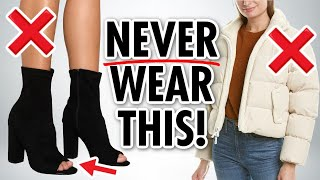 10 Items Stylish Women NEVER Wear! *CHEAP vs CHIC*