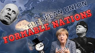 Hearts Of Iron 4 - ALL 19 FORMABLE NATIONS