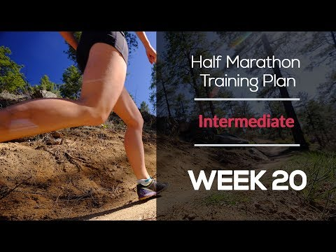 Intermediate Half Marathon Training Plan (WEEK 20)