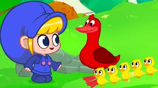 5 Little Ducks Went Swimming One Day | Kids Cartoons | Songs and Lullabies | Mila and Morphle
