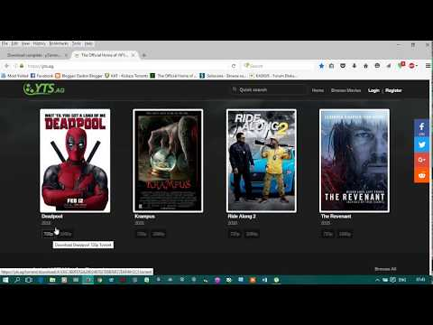 CARA DOWNLOAD FILM BLURAY MELALUI TORRENT (HOW TO DOWNLOAD BLURAY MOVIES WITH TORRENT)