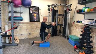 ½ Kneel Rotation for Developing Thoracic Mobility and Rotation