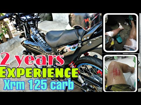 XRM 125 carb 2 years 💪 + accident experience story vlog #7