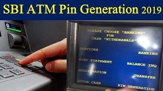 SBI ATM pin generation through ATM 2019 ,New Pin Generation SBI