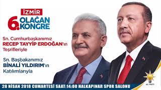 AK Parti İzmir'den Cumhurbaşkanı Erdoğan'a özel şarkı!