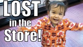 First Time Lost in the Store! - January 28, 2016 -  ItsJudysLife Vlogs