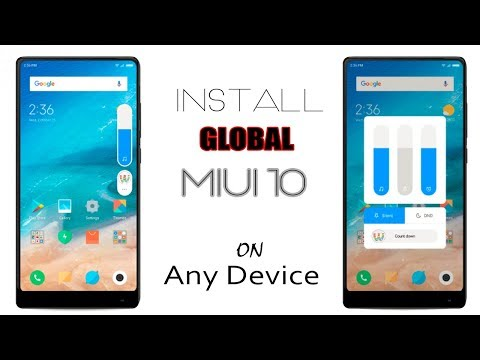 How To Install Official Global Beta MIUI 10 On Any Device - YouTube