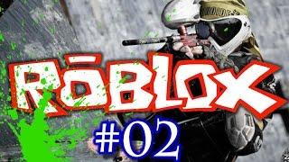 Josh Plays ROBLOX #2 - PAINTBALL FUN!