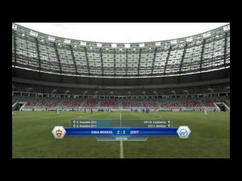 [SU Виртуальность] РФПЛ ЦСКА - Зенит FIFA 12