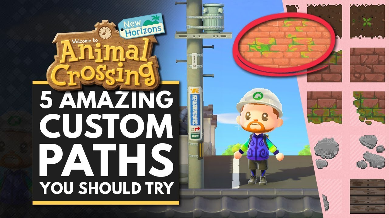 Animal Crossing New Horizons 5 Amazing Custom Path Designs You
