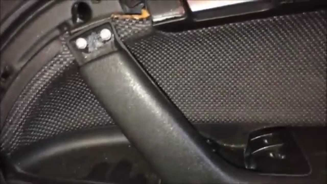 Audi A3 8p Armrest Rip Tear Repair Youtube