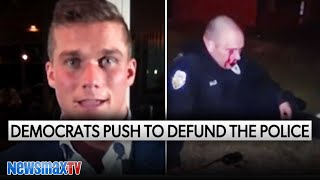 GOP candidate reacts to attacks on cops
