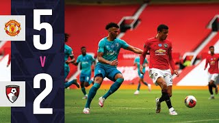 Seven Goals Shared ⚽  | Manchester United 5   2 Afc Bournemouth