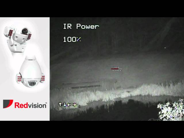 Redvision X-Series Ball PTZ Dome Camera