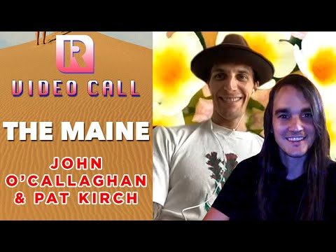 The Maine's John & Pat On 'You Are OK' Era & Recording Album 8 - Video Call With 'Rocksound'