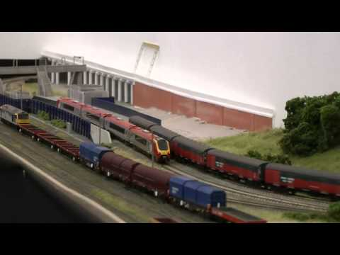 Dudley Heath – N gauge layout at the London Festival of Railway Modelling 2012