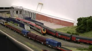 Dudley Heath - N gauge layout at the London Festival of Railway Modelling 2012