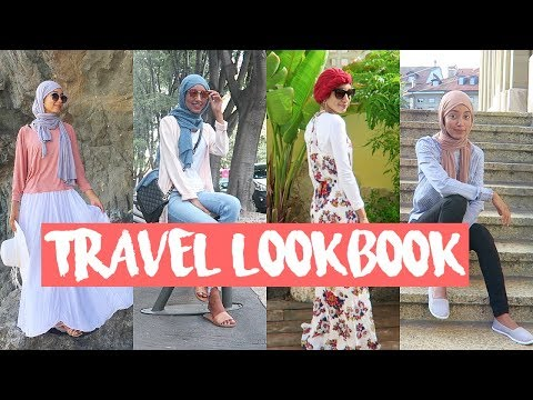 MODEST TRAVEL LOOKBOOK – SUMMER OUTFITS 2017