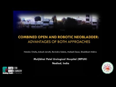 Robotic Neobladder Video Urology