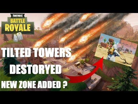 Weekly Wrap-Up - Will A Comet Or Meteor Hit Tilted Towers In Fortnite Battle Royale