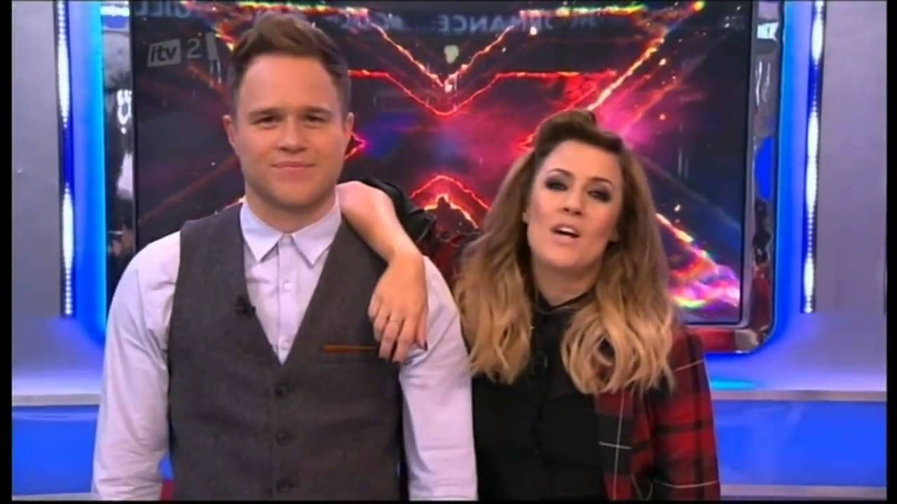 Caroline Flack Olly Murs Xtra Factor Best Of 2012 Youtube