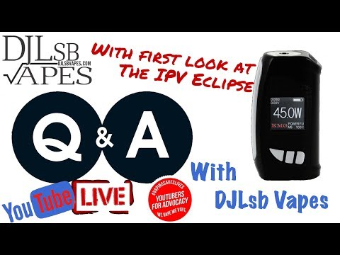 Q&A Live Ep.10 with First Look at the IPV Eclipse and 100k subscribers?