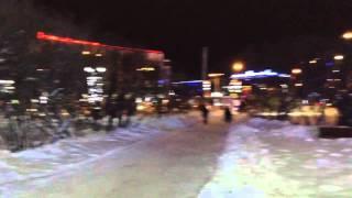 Мурманск центр города зима 2015 19 декабря(Центр Мурманска видео visitmurmansk.info., 2015-12-19T20:12:52.000Z)