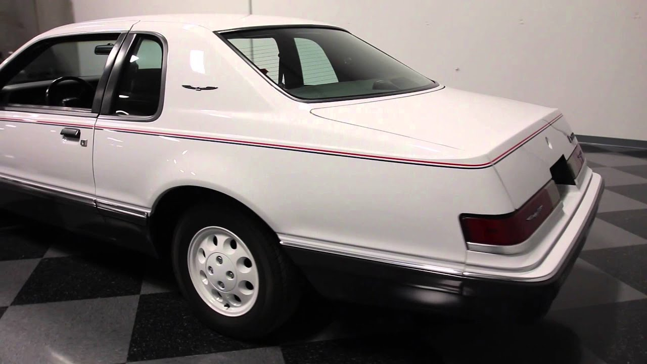 2863 Atl 1984 Ford Thunderbird Fila Edition