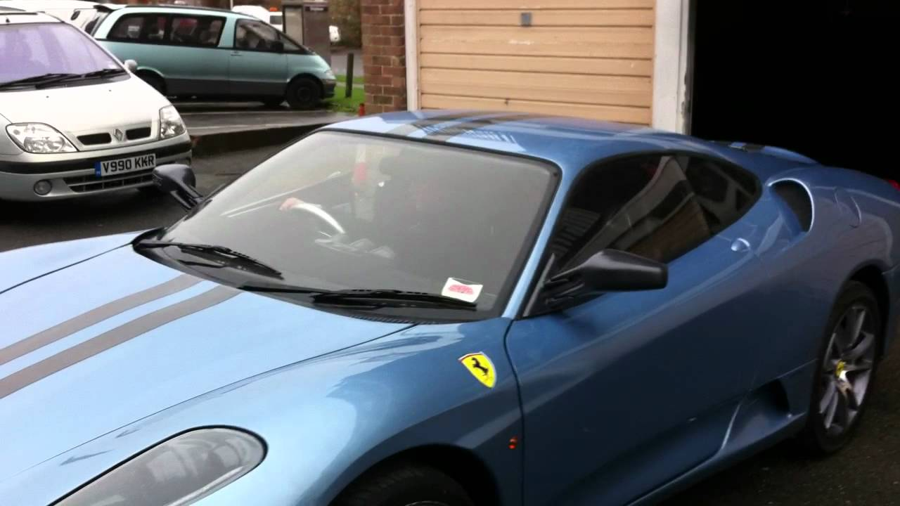 ferrari f430 replica mr2 kit car youtube. Black Bedroom Furniture Sets. Home Design Ideas