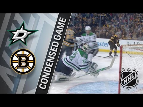 Dallas Stars vs Boston Bruins – Jan. 15, 2018 | Game Highlights | NHL 2017/18. Обзор матча