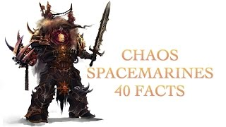 40 Facts and Lore about the Chaos Space Marine 40k Warhammer