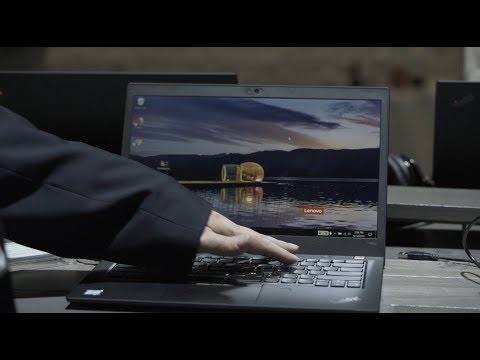 ThinkPad PrivacyGuard Demo at Lenovo Transform 2.0