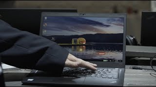 ThinkPad PrivacyGuard Demo at Lenovo Transform 2.0