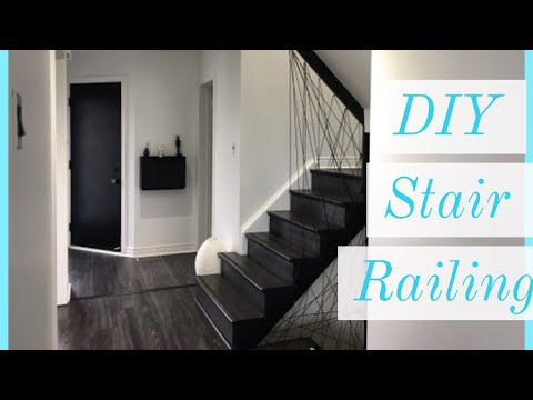diy-stair-railing-,-modern-stairs,-staircase-designs,-rope-stairs---home-renovation