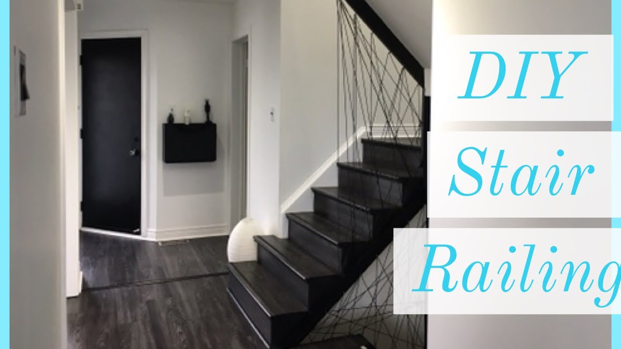 DIY Stair Railling , Modern Stairs, Staircase Designs , Rope Stairs