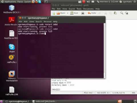 Configuring SAMBA in Ubuntu - Part 3