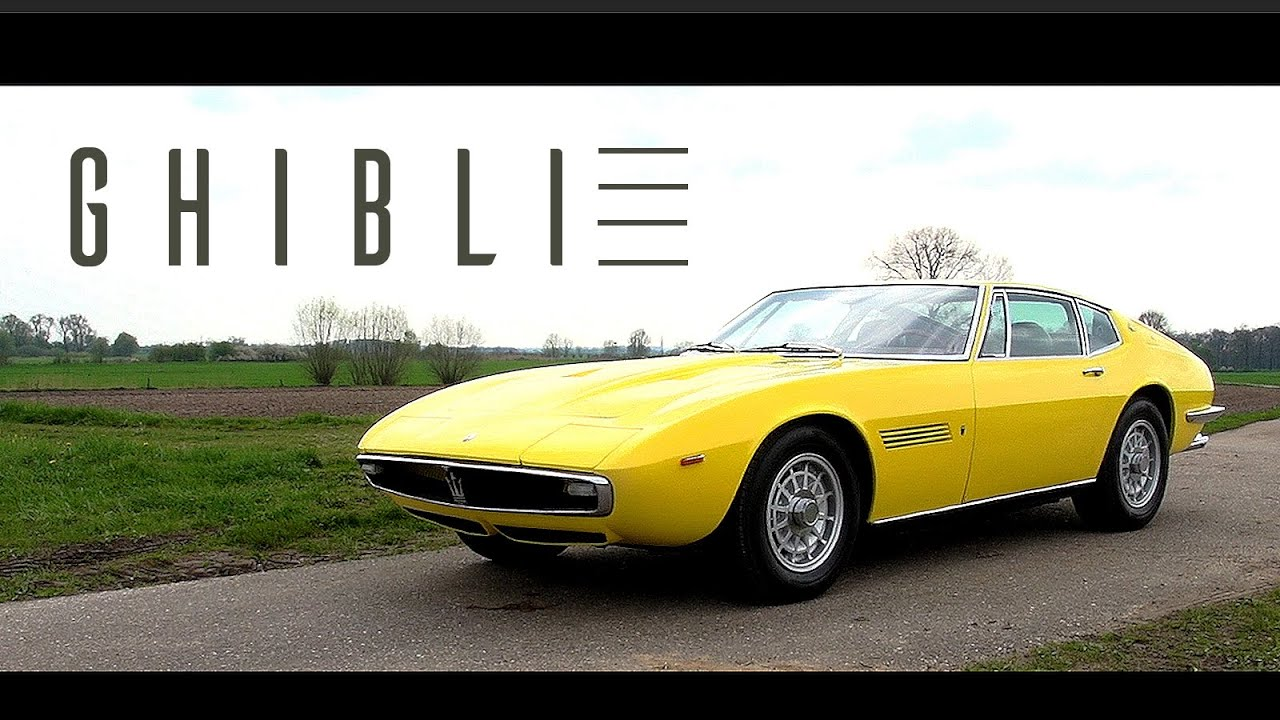 maserati ghibli 4 9 ss 1970 coupe test drive in top gear v8 engine sound scc tv youtube. Black Bedroom Furniture Sets. Home Design Ideas