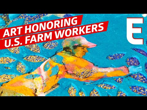 How a Latina Artist Immortalizes the Efforts of Rural Farmworkers – SFA