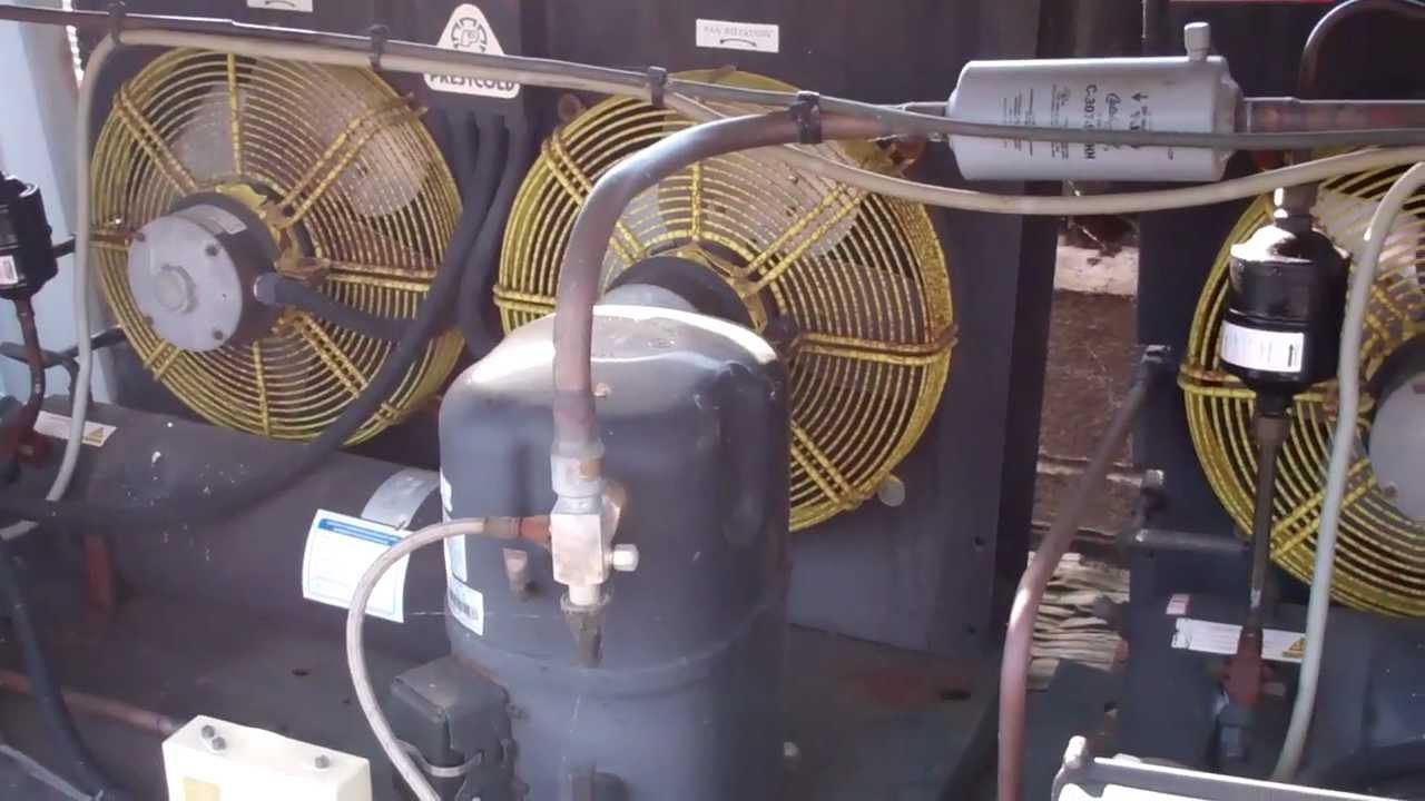 Hvac Copeland Compressor Bad Valves Youtube Wiring