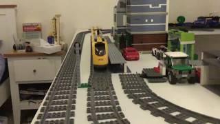 Lego City Train 60197 speed test