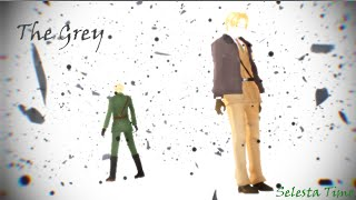 [MMD APH] The Grey - England and America
