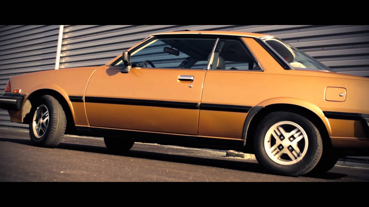 Mazda 626 Coupe II gen.(CB) 1982 2.0L 90 HP, 5-sd RWD - YouTube