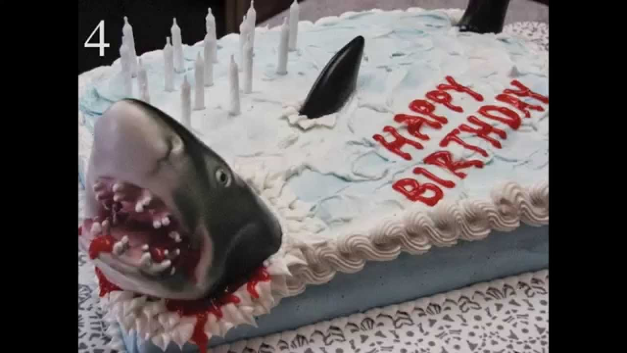 how to make a shark cake youtube