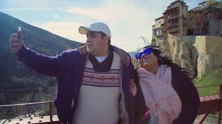 شاهد شيماء سيف وجوزها مادي علي جسر العشاق في اسبانيا