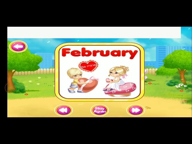 Months Preschool Learning | preschool learning videos kids | early learning months
