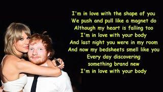 Ed Sheeran - Shape Of You ( LYRICS VIDEO ) Female Version