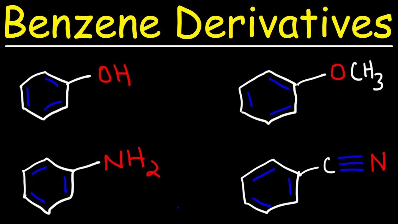 Naming Benzene Ring Derivatives - Aromatic Compounds - YouTube