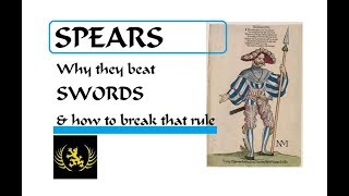 Spears: Why they defeat swords, optimum characteristics & perfect length